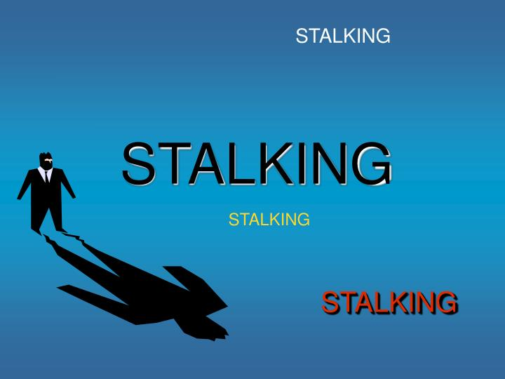 stalking Stalking on wn network delivers the latest videos and editable pages for news & events, including entertainment, music, sports, science and more, sign up and share your playlists.