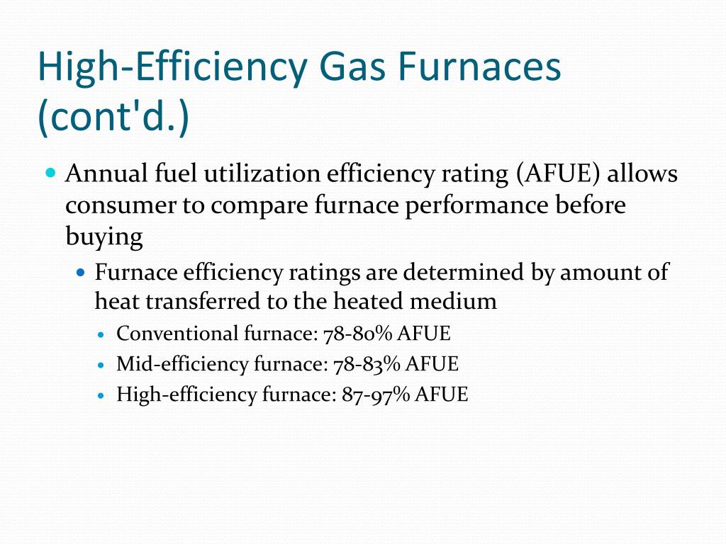 PPT - Gas Furnaces PowerPoint Presentation - ID:3100021