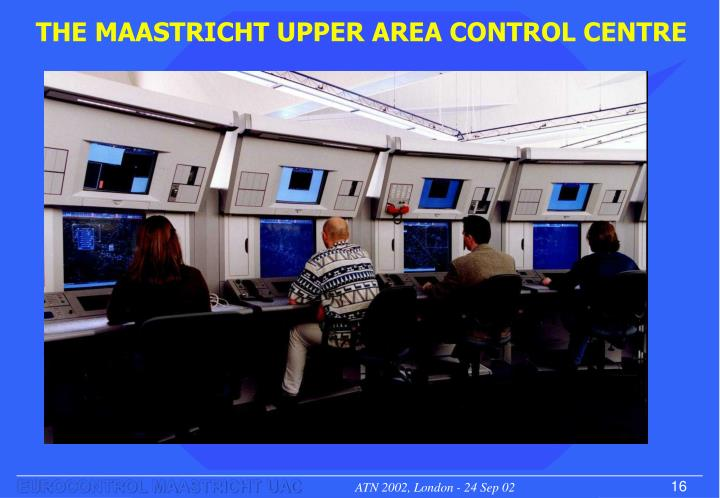 THE MAASTRICHT UPPER AREA CONTROL CENTRE