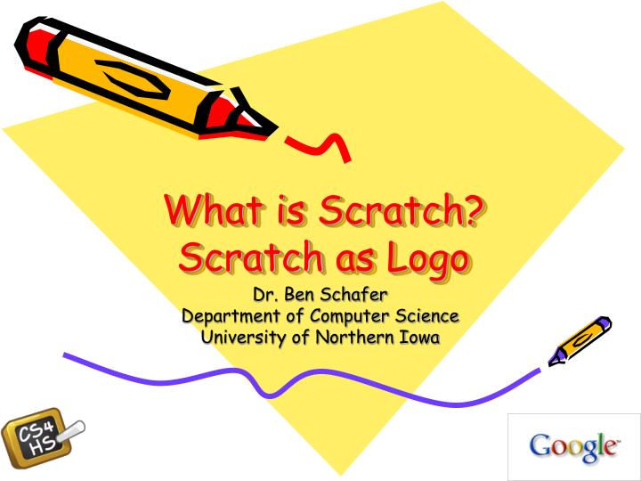 what is scratch scratch as logo