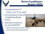 marine expeditionary brigade meb