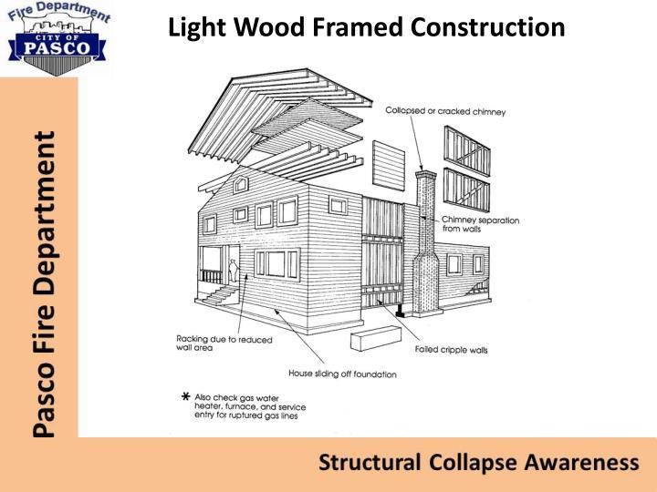 Light Wood Framed Construction