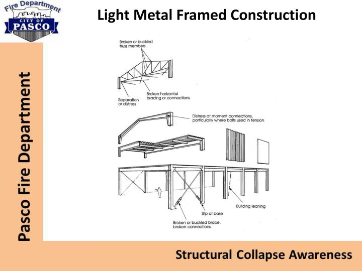 Light Metal Framed Construction