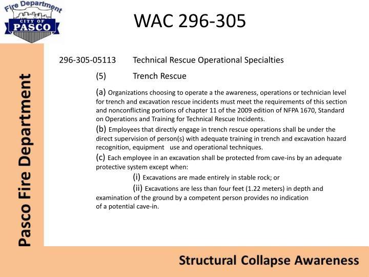 WAC 296-305