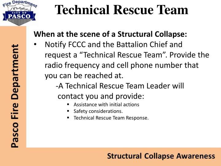 Technical Rescue Team