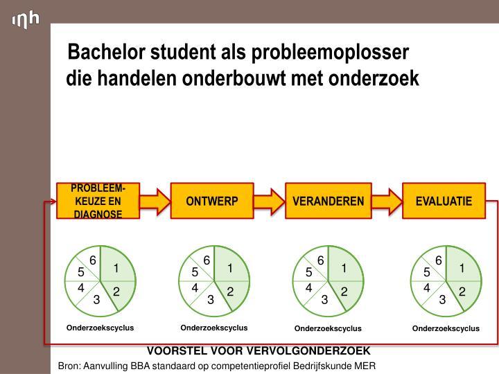 Bachelor student als probleemoplosser