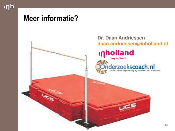 Dr. Daan Andriessen