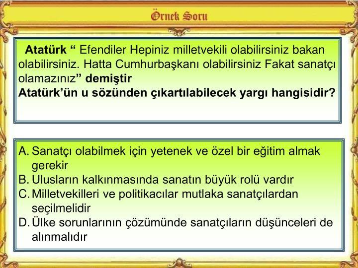 """Atatürk """""""