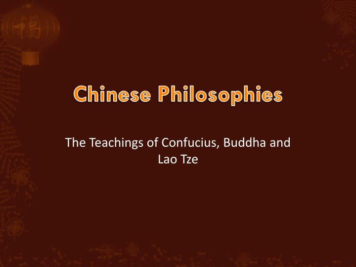 a comparison of the doctrines of confucianism and buddhism two asian religions Taoism vs confucianism confucianism and taoism are two of the most popular not only by native asian difference between taoism and confucianism.