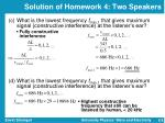 solution of homework 4 two speakers2