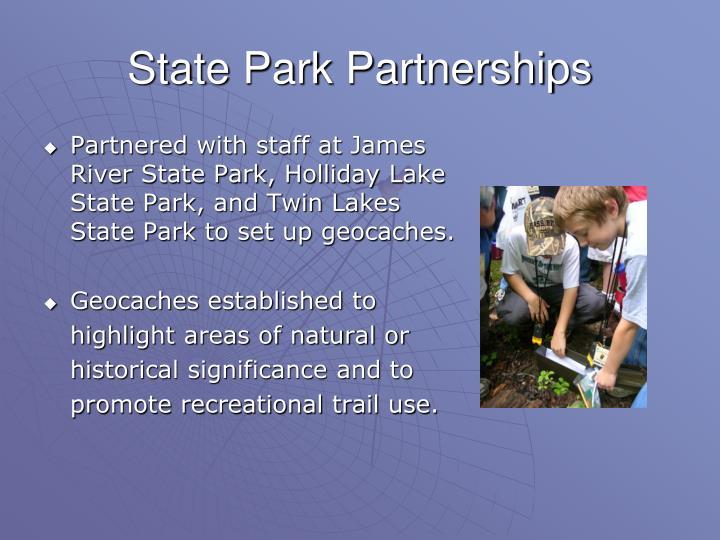 State Park Partnerships