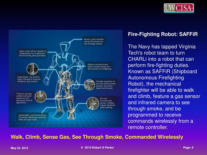 Fire-Fighting Robot: