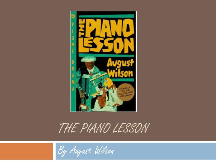 the piano lesson n.