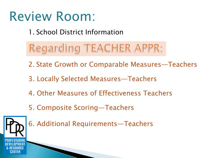 Review Room:
