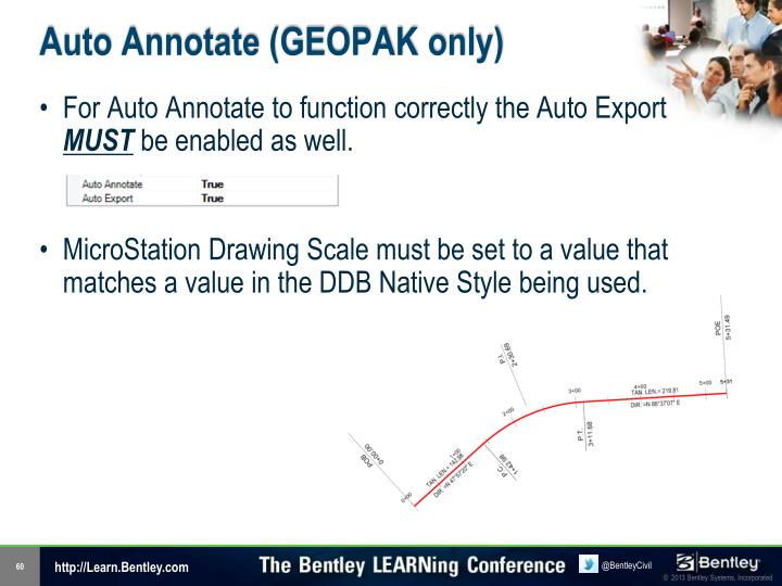 Auto Annotate (GEOPAK only)