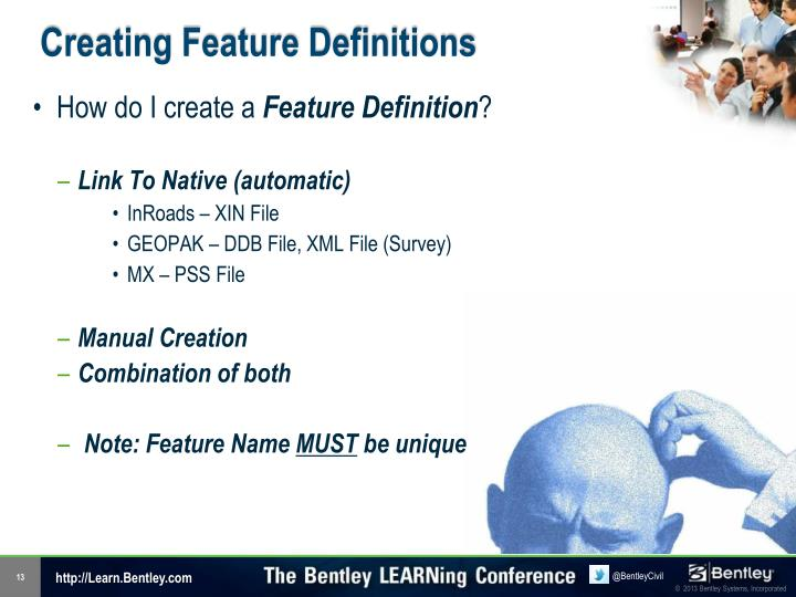 Creating Feature Definitions