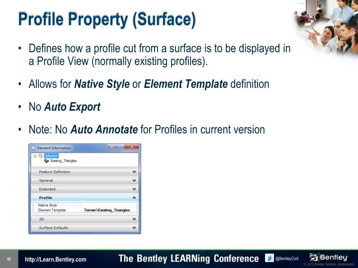 Profile Property (Surface)