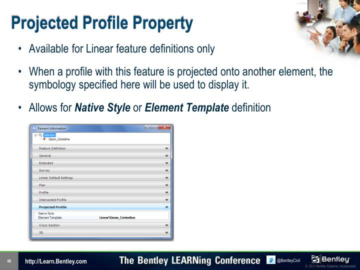 Projected Profile Property