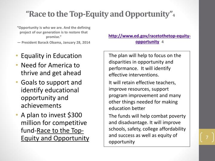 equality of educational opportunity definition