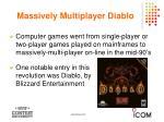 massively multiplayer diablo