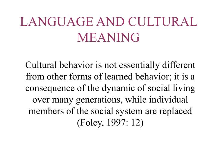 socilinguists examination of the social and cultural influences on language behavior