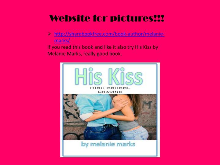 Website for pictures!!!
