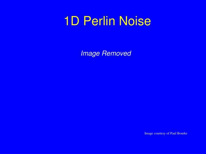 1D Perlin Noise