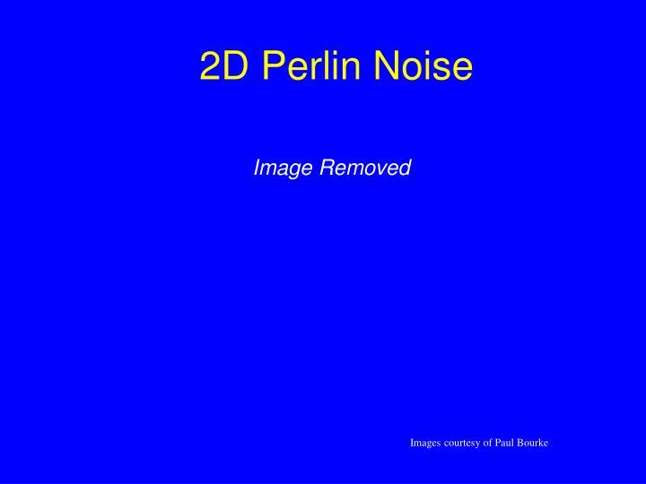 2D Perlin Noise
