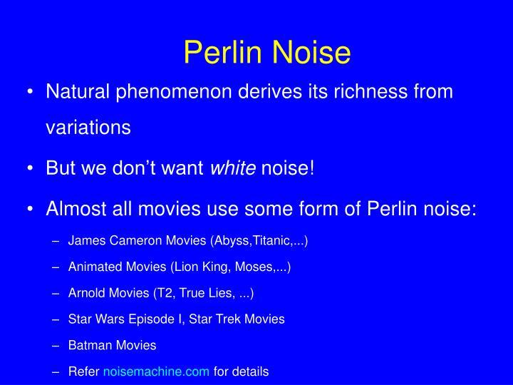 Perlin Noise