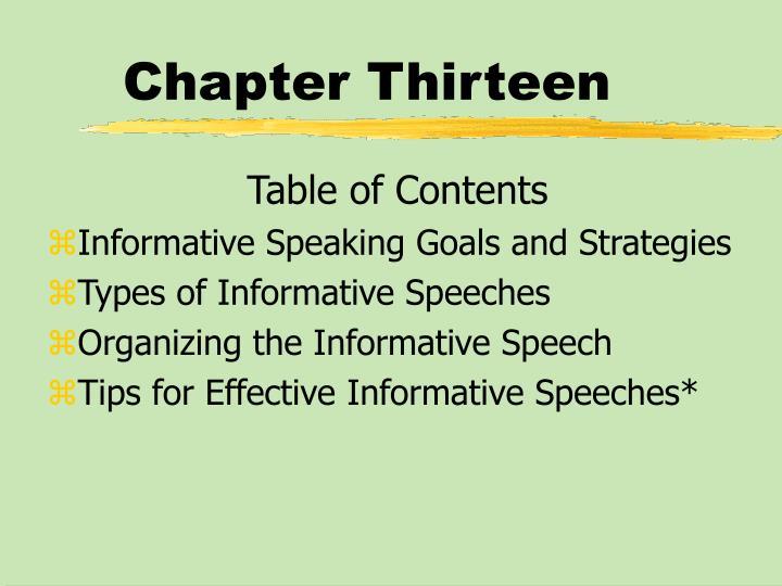 Chapter thirteen1