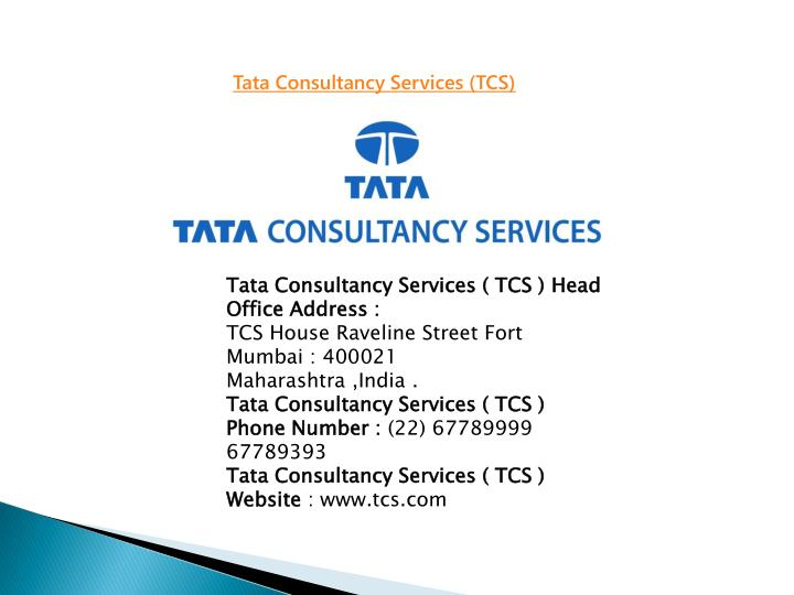 hr practices followed by tata consultancy service October 16, 2018 tcs wins 11 stevies at the 2018 great employers awards tata consultancy services recognized for achievements in talent acquisition and development, leadership training and creative use of technology.