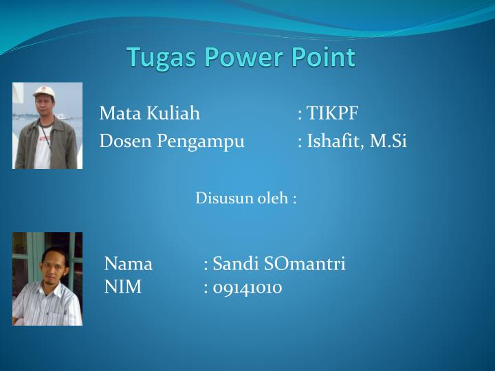 Tugas power point