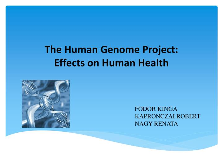 the benefits and negative effects of the human genome project The mapping of the human genome was a major milestone in medicine, but for average consumers, the benefits of this breakthrough were way out of their financial reach.