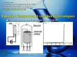 energie d ionisation et couches lectroniques
