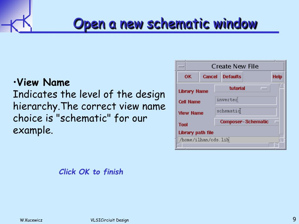 PPT - CADENCE Tools Lecture bases on CADENCE Design Tools Tutorial