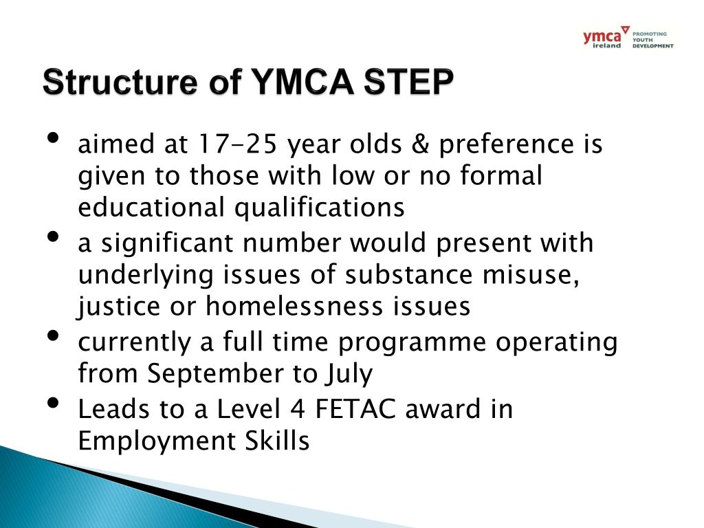 Ppt Learning From Ymca S Experience Of Working With Unemployed Young People Powerpoint Presentation Id 3103025
