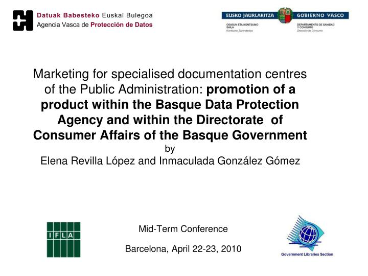 mid term conference barcelona april 22 23 2010 n.