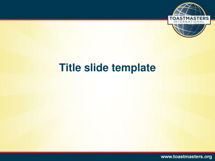 PPT - Title slide template PowerPoint Presentation - ID:3103193