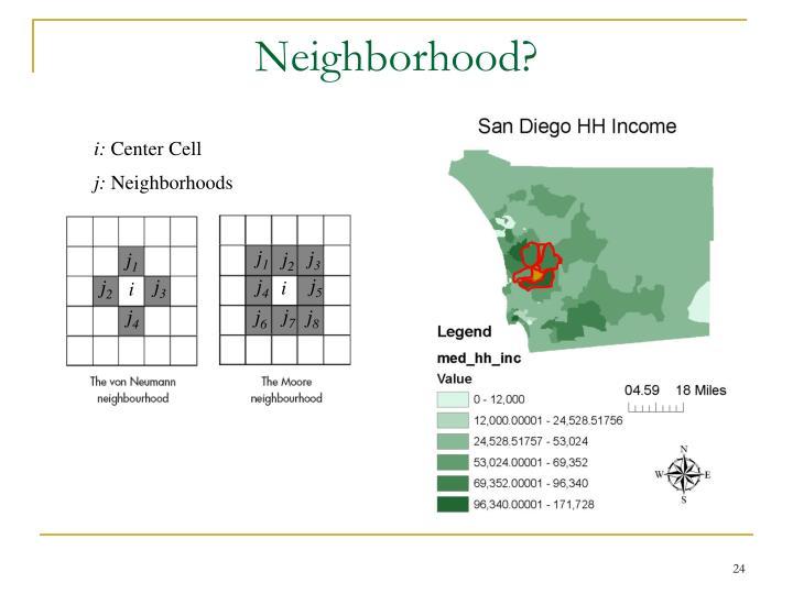 Neighborhood?