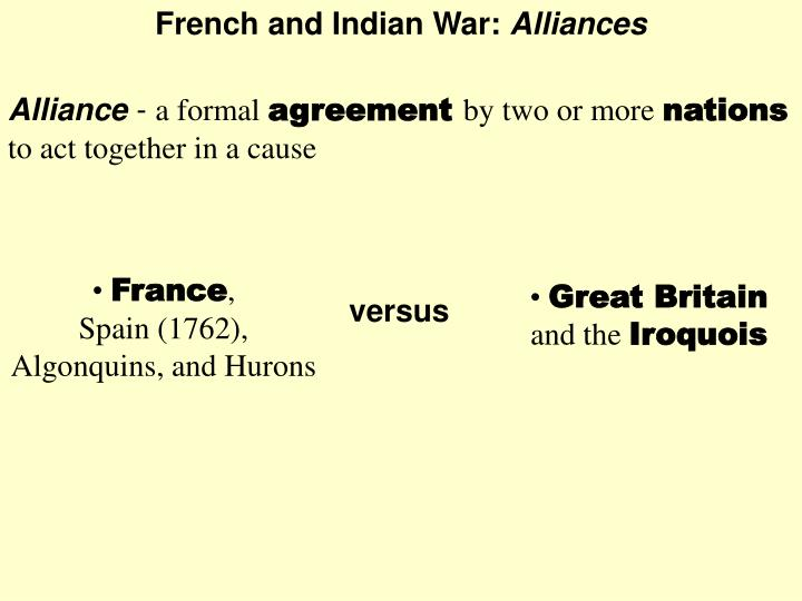 French and Indian War: