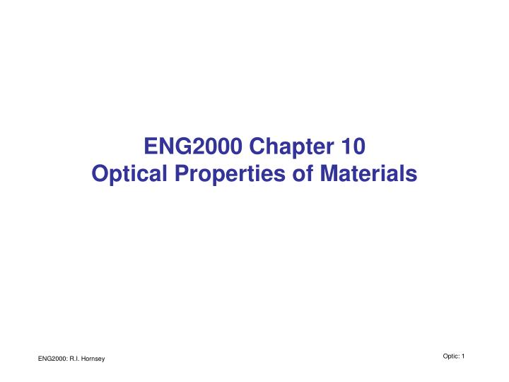 eng2000 chapter 10 optical properties of materials n.