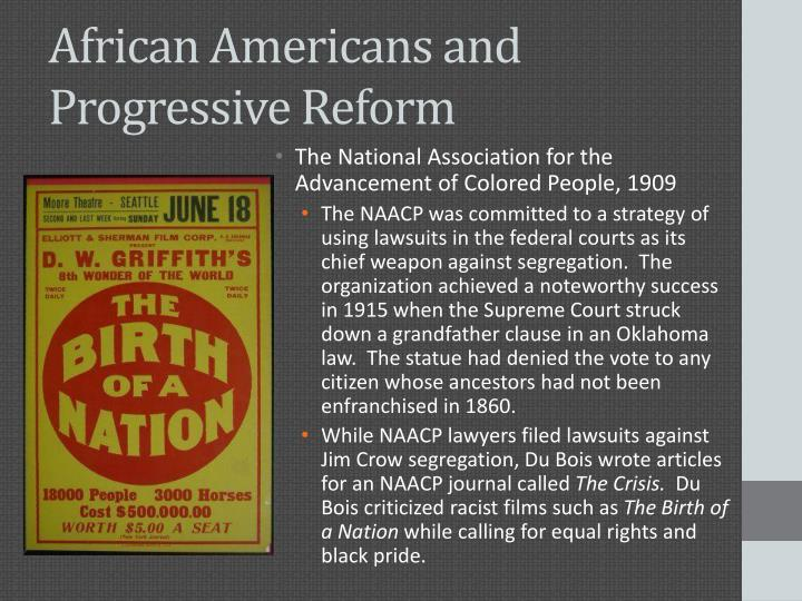 African Americans and Progressive Reform