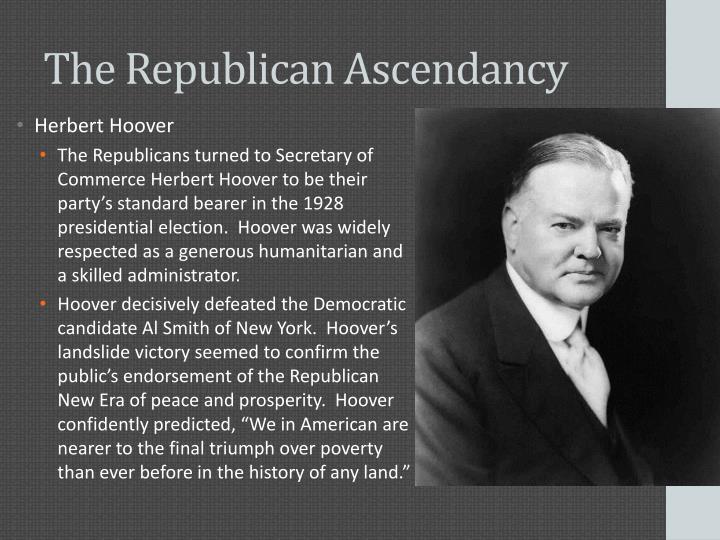 The Republican Ascendancy