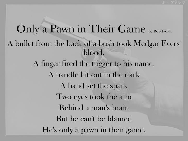 Only A Pawn In Their Game - Bob Dylan - YouTube