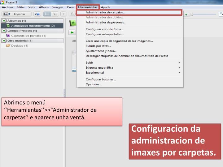 Configuracion