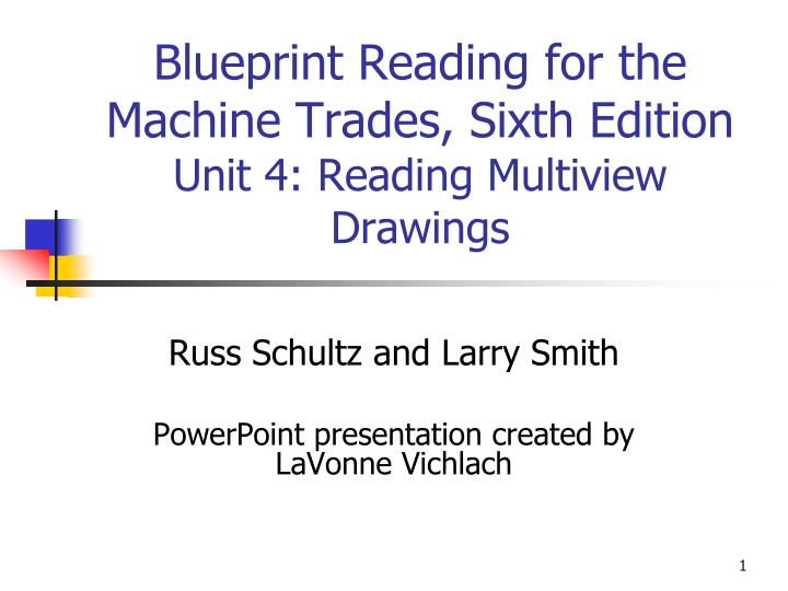 blueprint reading for the machine trades sixth edition unit 4 reading multiview drawings n.