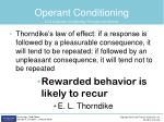 operant conditioning1