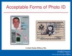 acceptable forms of photo id4
