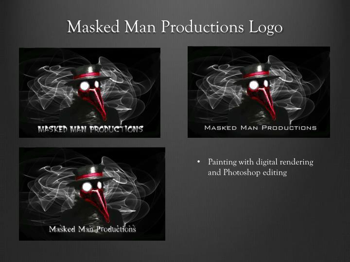 Masked Man Productions Logo