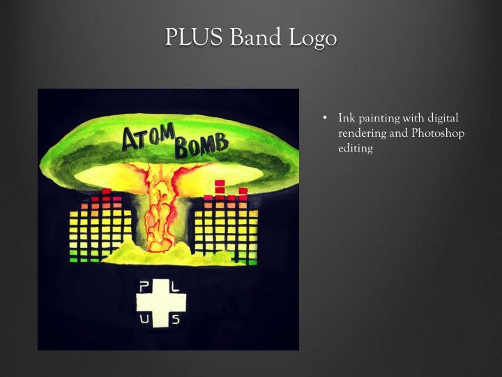 Plus band logo